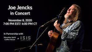 Joe Jencks in Concert  Live Stream nbsp700 PM ET