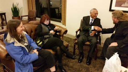 Joe & Lynn with Dr. C.T. Vivian in Birmingham