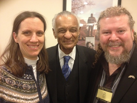 Lynn & Joe with Dr. C.T. Vivian